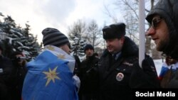 """Полиция на акции """"Единства равных"""""""