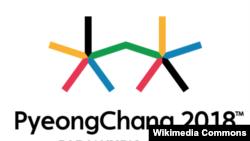 Эмблема Паралимпийских игр 2018 года в Южной Корее.