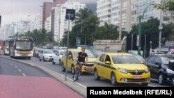 Олимпиада қарсаңындағы Рио-де-Жанейро қаласы. 30 шілде 2016 жыл.