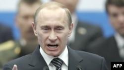 В. Путин ҳангоми суханронӣ дар ҷаласа