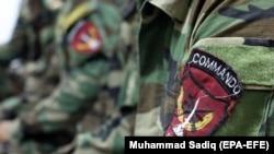 د افغان ځانګړي ځواک یو عکس له ارشیفه
