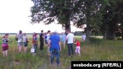 ТБМ-аўцы ля ліпавых прысад згадваюць Ігната Грынявіцкага