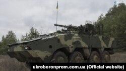 БТР-4МВ1 боевые испытания