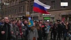 Дар саросари Русия беш аз 1600 мухолифи Путин дастгир шуд