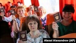 Жители Донецка организованно едут в Ростовскую область, чтобы проголосовать за поправки к Конституции России, 27 июня 2020 года