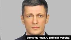 Opposition candidate Oleg Cherkashin