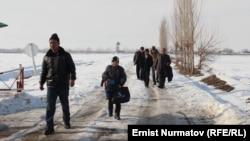 Барак эксклавынын тургундары, 25-январь, 2013