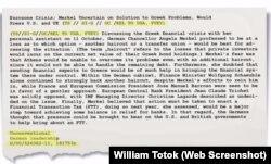 "Document publicat în ""Süddeutsche Zeitung"""