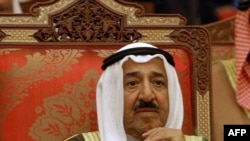 The emir of Kuwait, Sheikh Sabah al-Ahmad al-Sabah