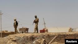 على الحدود العراقية السورية