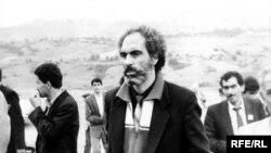 Экс-президент Абульфаз Эльчибей, 1989 год
