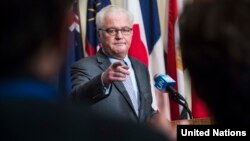 "Vitaly Churkin, Russia's ambassador to the United Nations, has dismissed as ""unconvincing"" UN investigators' documentation of chemical attacks by Syria."