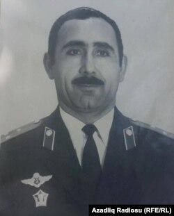 Qubad Vəliyev polis zabiti olarkən
