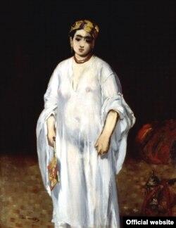 Tînăra în veșmînt oriental a lui Manet...