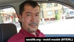 Узбекский журналист Хайрулла Хамидов.
