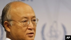 "IAEA Director-General Yukiya Amano said it was his duty to ""alert the world"" about suspected Iranian efforts to develop atomic bombs."
