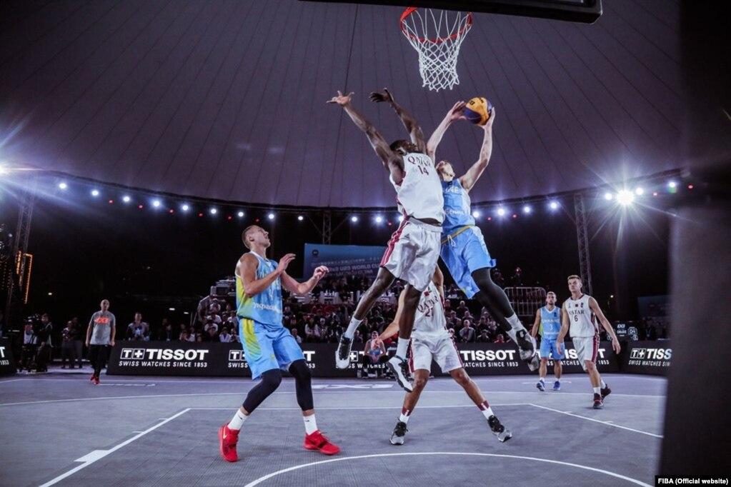 Чоловіча збірна України з баскетболу 3х3 на світовій першості серед спортсменів віком до 20 років