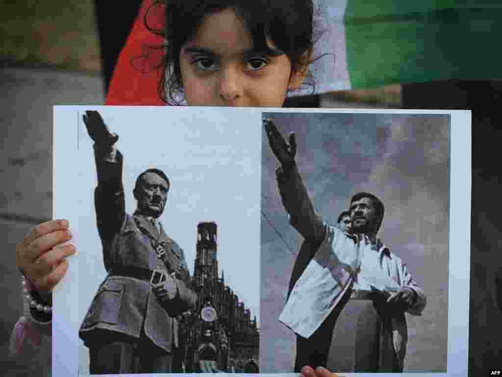 Митинг против результатов выборов в Иране. Лос-Анджелес, США
