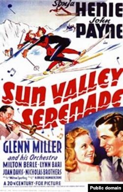 """""""Серенада Солнечной долины"""", постер 1941 года"""