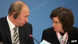 Владимир Путин и Эльвира Набиуллина рассказали, на что могут рассчитывать коммерческие банки