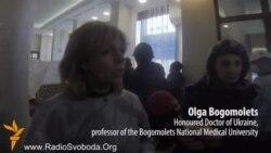 20 протестувальників загинули сьогодні – Богомолець (англійською мовою)