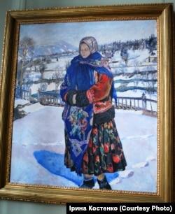 Владислав Яроцький «Зимове сонце в Карпатах», 1929 рік