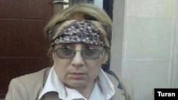 Лейла Юнус на суде в Баку