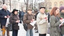 برگزاری مراسم یادبود قربانیان سرکوب سیاسی در روسیه