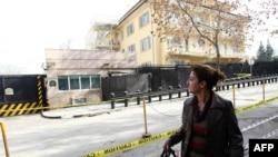 Pamje arkivi e ambasadës amerikane në Ankara, Turqi