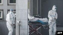 Больница в китайском городе Ухане.