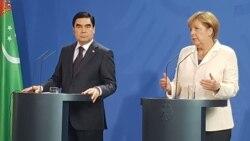 Germaniýa Merkeliň Türkmenistanyň çakylygyny kabul edenini tassyklamady