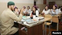 Нохчийчоь -- Соьлж-ГIаларчу школехь, 21Oct2012