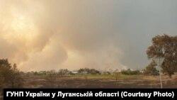 Вогонь біля Сєвєродонецька