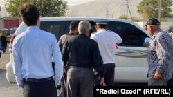 Роҳи асосии Кӯлоб-Душанбе дар ҳудуди ноҳияи Восеъ, 4-уми октябри 2021
