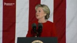 Clinton și Trump - ultimele apeluri la vot pentru alegătorii lor