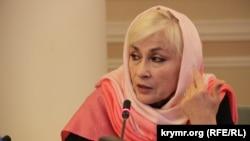 Atiqiyatçı Aliye İbragimova çıqışta buluna