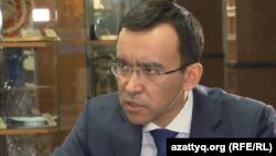 Председатель комитета нижней палаты парламента Казахстана по международным делам, обороне и безопасности Маулен Ашимбаев.