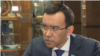 Маулен Ашимбаев во время интервью Азаттыку. Астана, 20 января 2017 года.