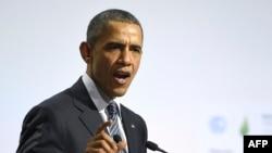 Барак Обама на климатическом саммите в Париже