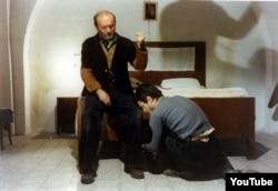 """""""Atam mənim, ağam mənim"""" (1977) filmindən bir kadr."""