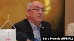 Ridiger Šhulc na konferenciji za novinare 18. januara 2012.