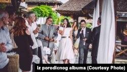 Jovana i Vladimir ma ceremoniji venčanja