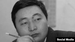 Нургазы Анаркулов, президенттик аппараттын маалыматтык саясат бөлүмүнүн башчысы. Сүрөт Интернеттен алынды.