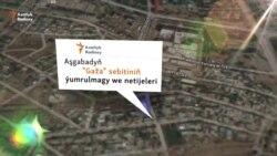 """Aşgabat: """"Gaža"""" ýumrulýar"""