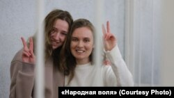 Катерина Бахвалова и Дарья Чульцова