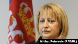 Kryetarja e Kuvendit të Serbisë, Sllavica Gjukiq Dejanoviq