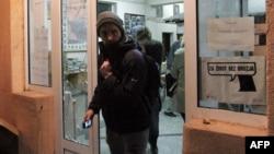 Избирательный участок в городе Косовска-Митровица