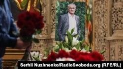 Прощання із письменником Володимиром Яворівським у Києві (фоторепортаж)