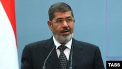 Египеттің бұрынғы президенті Мұхаммед Мурси.