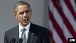 U.S. President Barack Obama says time is running out to resolve the Iranian nuclear standoff diplomatically.